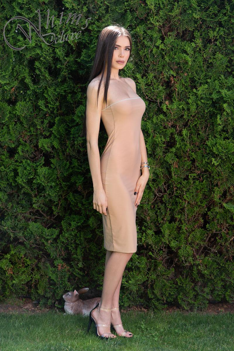 "Рокля ""Mona Nude"""