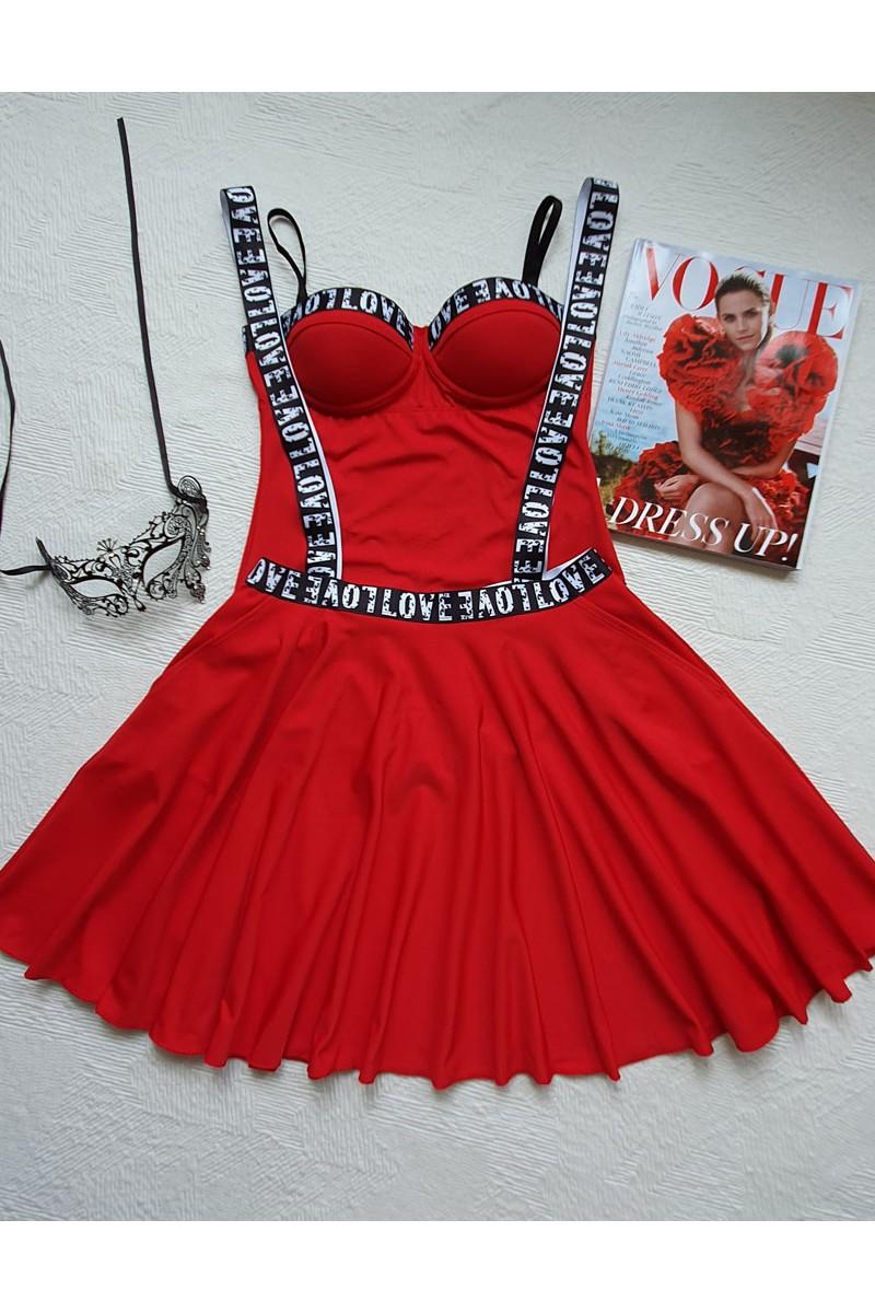 """Сукман """"Lolita Love Red"""""""